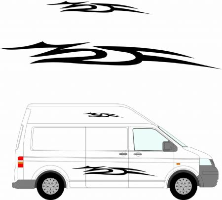 (No.141) MOTORHOME GRAPHICS STICKERS DECALS CAMPER VAN CARAVAN UNIVERSAL FITTING
